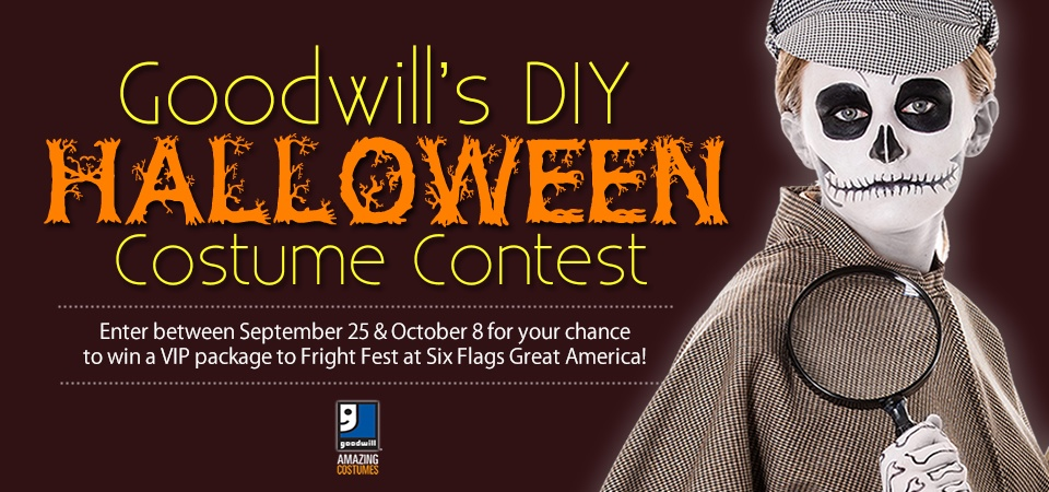Enter Goodwill's DIY Costume Contest