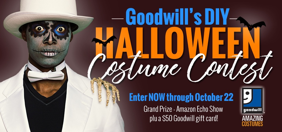 Enter Goodwill's Halloween Costume Contest