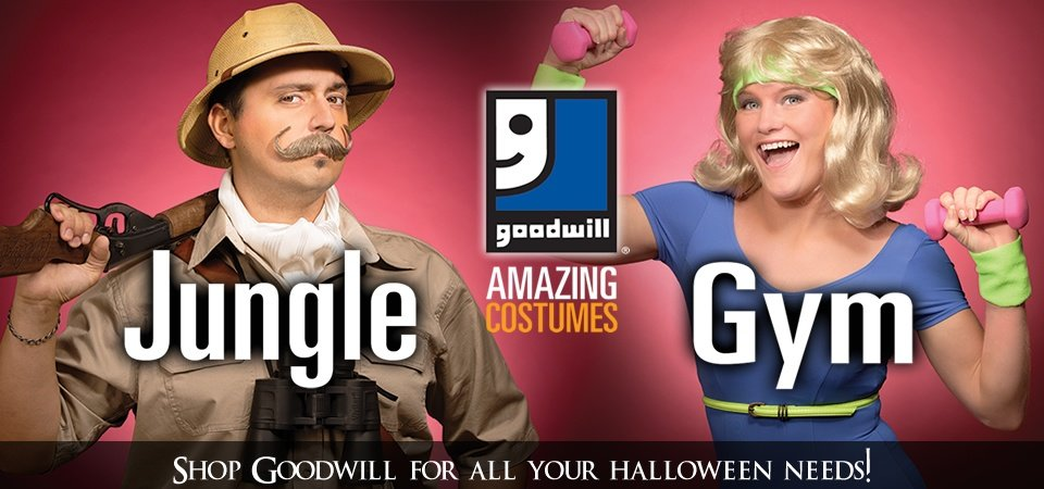 Shop Goodwill for all your Halloween needs!