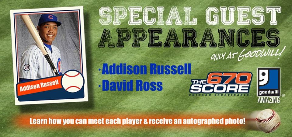 Special meet and greet opportunities coming soon to Goodwill!