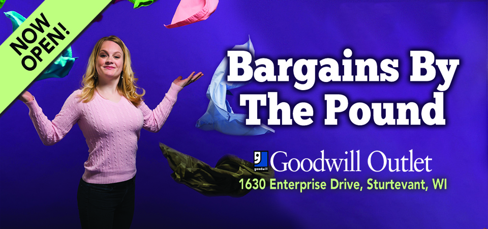 The all new Goodwill Outlet is now open