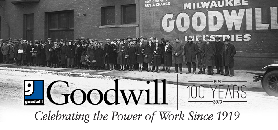 Goodwill Celebrates our 100th Anniversary