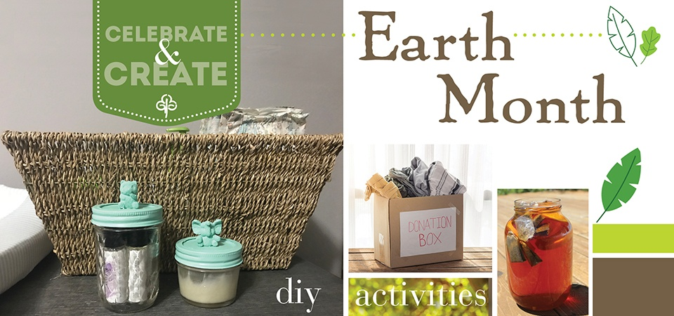It's Earth Month - Living Amazing with Goodwill - Earth Month