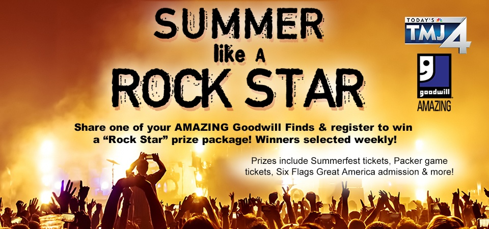Summer Like at Rock Star with Goodwill