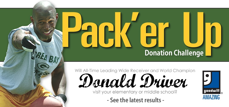 Goodwill's Pack'er Up Donation Challenge
